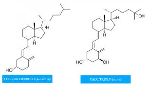 vitamina D struttura chimica