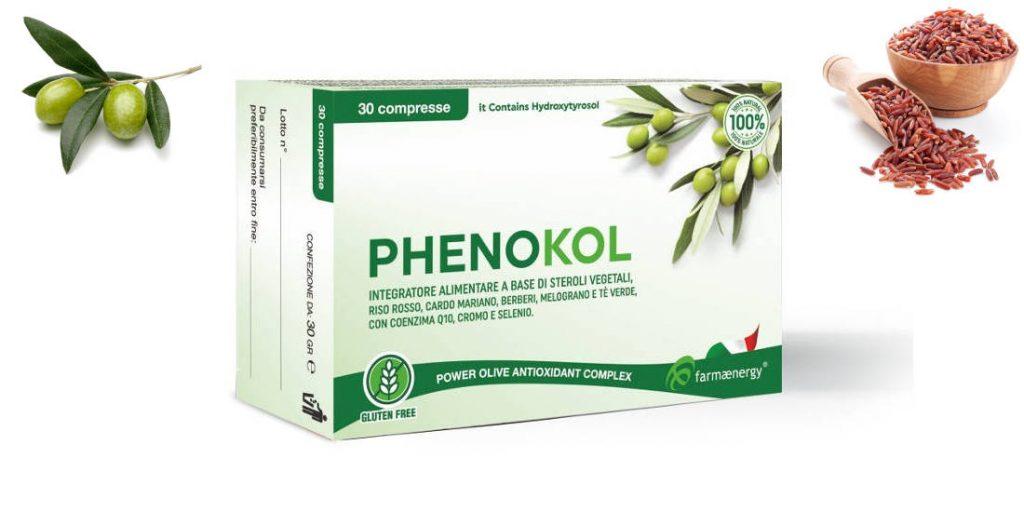 phenokol integratore ipocolesterolemizzante