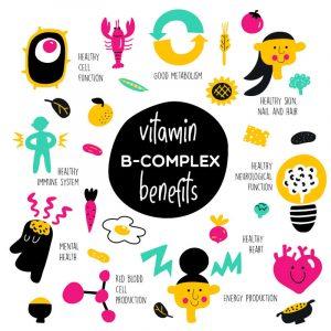 vitamine gruppo b benefici