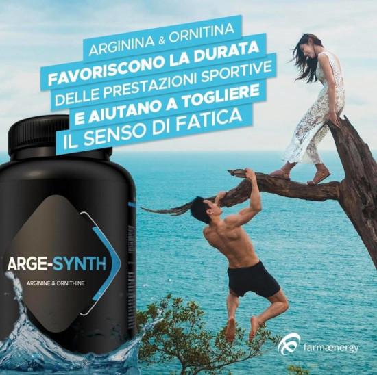 Arge-Synth Integratore Arginina e Ornitina